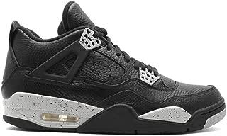 JACKWOLDMIN Athletic Sport Basketball Running Sneaker AIR JORDAN 4 RETRO LS OREO 314254 003 Men's Casual Shoe
