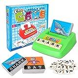 Inglés Ortografía Alfabeto Juego De Cartas Aprendizaje Temprano Juguete Educativo Para Niños,Palabras Construcción Juego de mesa