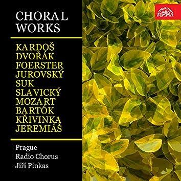 Choral Works (Kardoš, Dvořák, Foerster, Jurovský, Suk, Slavický, Mozart, Bartók, Křivinka, Jeremiáš)