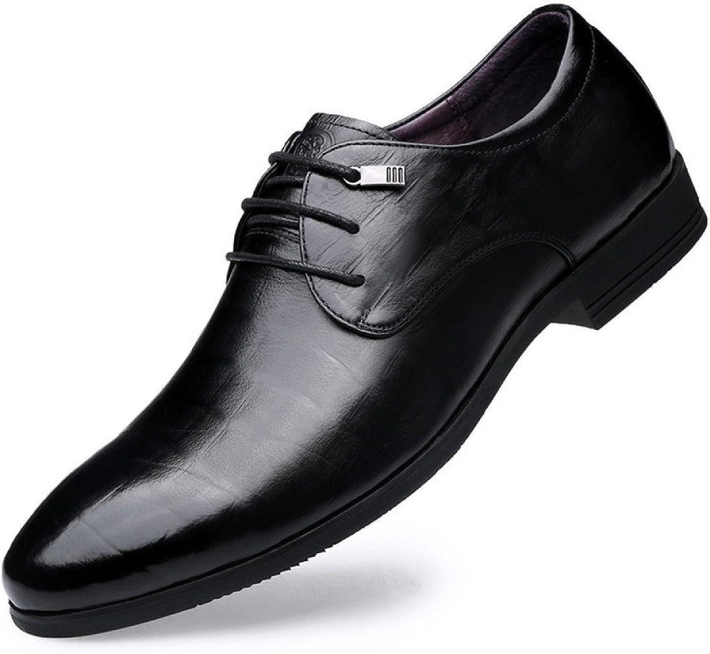 LYZGF Männer-Jugend-Geschäfts-zufällige Mode Wies Schnürschuh-Leder-Schuhe Auf Auf Auf B07CBMXHLJ 01d300