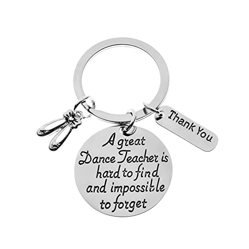 32d25b80 Dance Teacher Gift, Dance Teacher Keychain- Dance Jewelry - Perfect Gift  For Dance Instructors