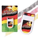 Preis am Stiel Fan-Schminke im Blockstift ''Deutschland''   Fanschminke   WM -