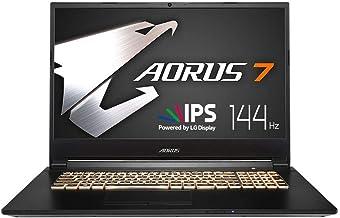 AORUS 7 (SA) Gaming Laptop, 17.3-inch FHD 144Hz IPS, GeForce GTX1660Ti,i7-9750H, 16GB DDR4, 512GB NVMe SSD