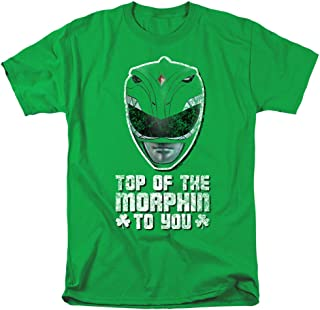 Power Rangers Top of The Morphin to You Unisex Adult T Shirt for Men and Women