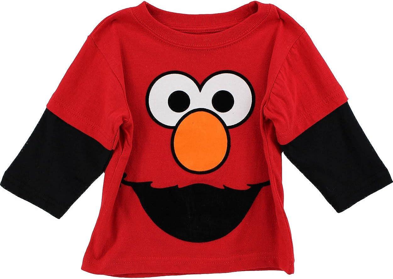 Sesame St Boys' Elmo Long Sleeve T-Shirt