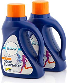 Odor Eliminator by Febreze, In Wash Laundry Scent Booster, Deodorizer, Detergent Additive, Fabric Refresher, Fresh Scent, ...