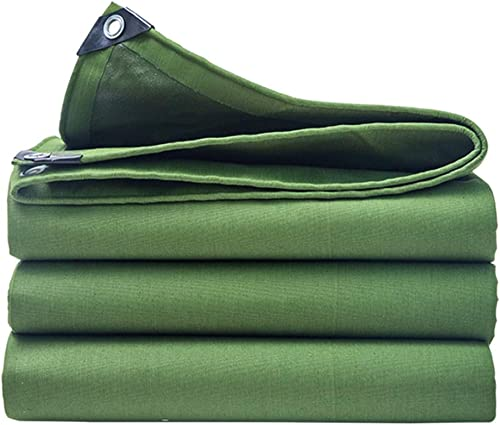 XX Tarpaulin XiaoXIAO Toile de bache épaisse en Plein air auvent d'ombre de Wagon de Voiture de bache de Prougeection de Poncho de bache de Prougeection Solaire, Vert, 13 Tailles Bache (Taille   5mX5m)