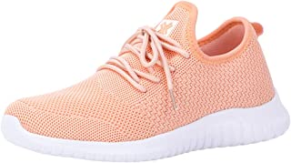 Women's Athletic Walking Shoes Casual Knit Comfortable Fashion Sneakers