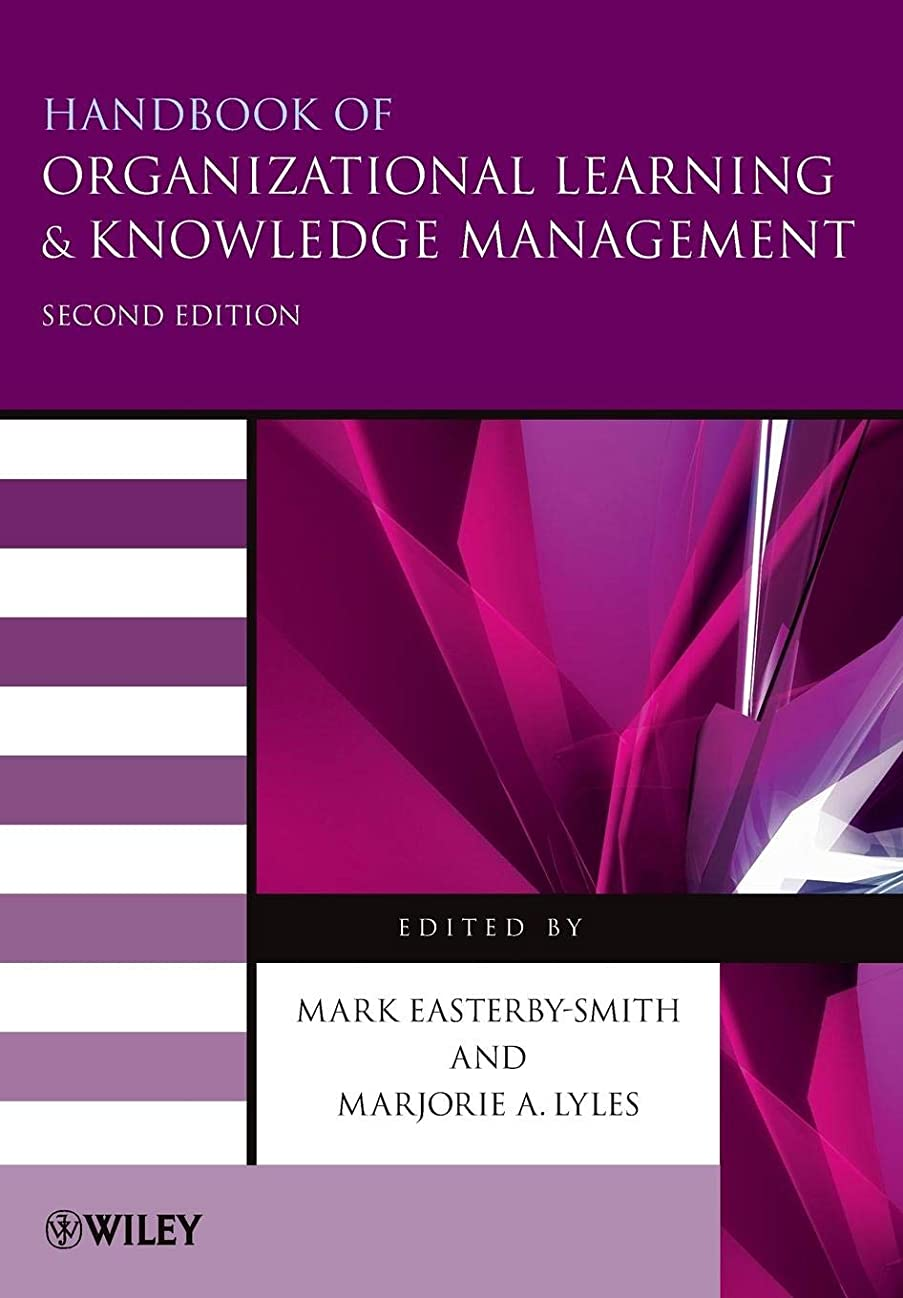 インデックス長々と効果的Handbook of Organizational Learning and Knowledge Management