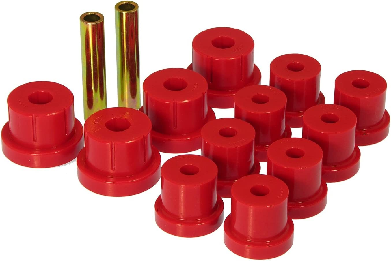 Regular store Prothane 7-1011 Red Rear Multi Leaf Spring Bushi and Cheap mail order sales Eye Shackle