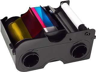 Fargo DTC1000 YMCKO Ribbon Cartridge w/ Cleaning Roller - 45000