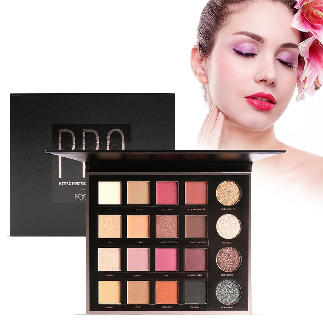 ボイラーワックス規範20色 アイシャドウパレット 化粧品ツール アイシャドウパレット 化粧マットグロス アイシャドウパウダー