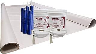Class A Customs Sure-Flex PVC RV Rubber Roof Kit 9.5' X 35' Complete Kit