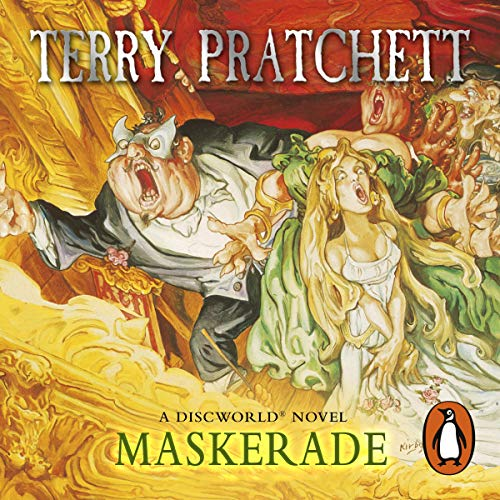 Maskerade Audiobook By Terry Pratchett cover art