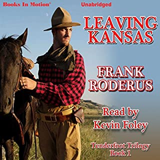 Leaving Kansas audiobook cover art