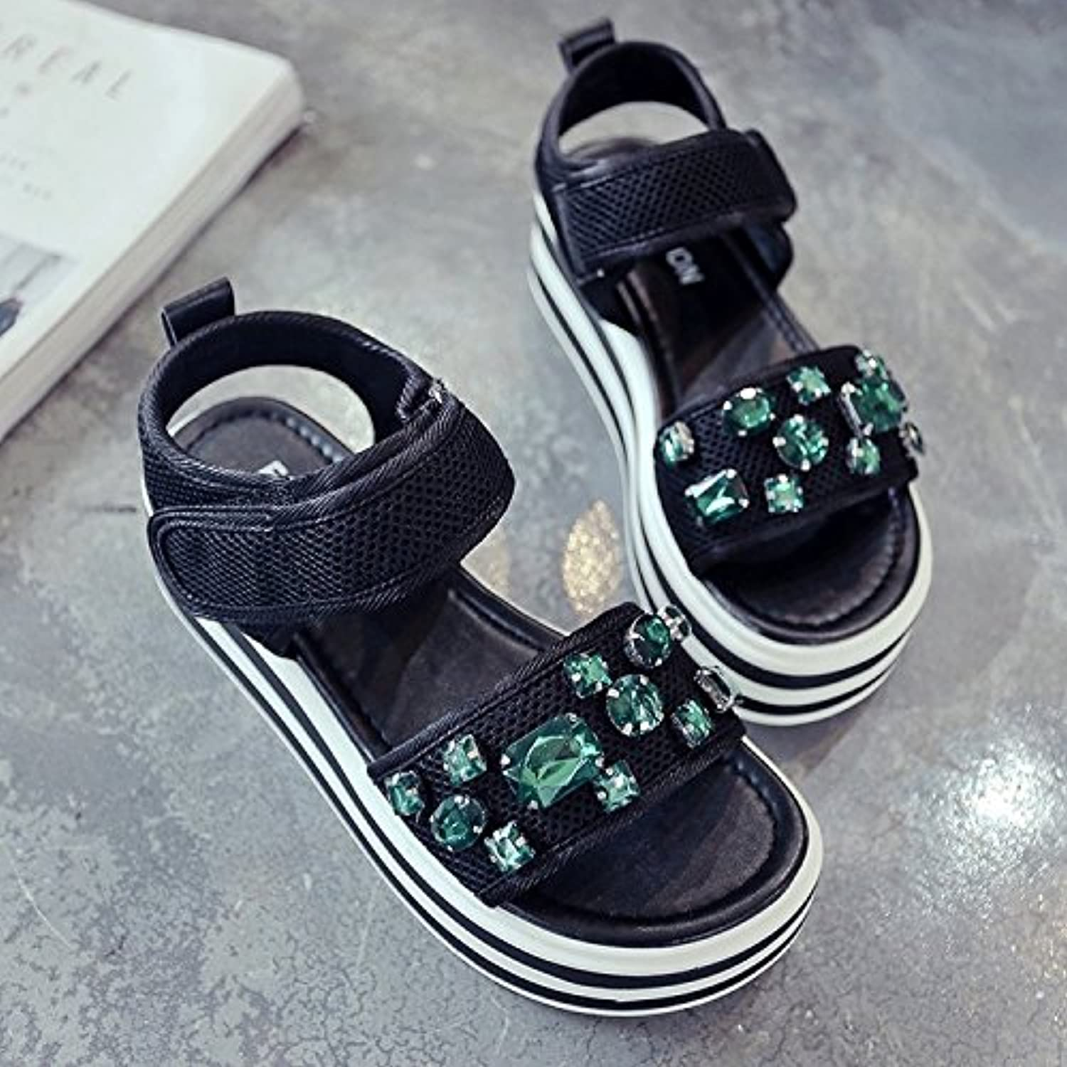 LHJY Casual Sandals Fashionable Muffins Women's Summer Comfortable shoes Sandals and Sandals