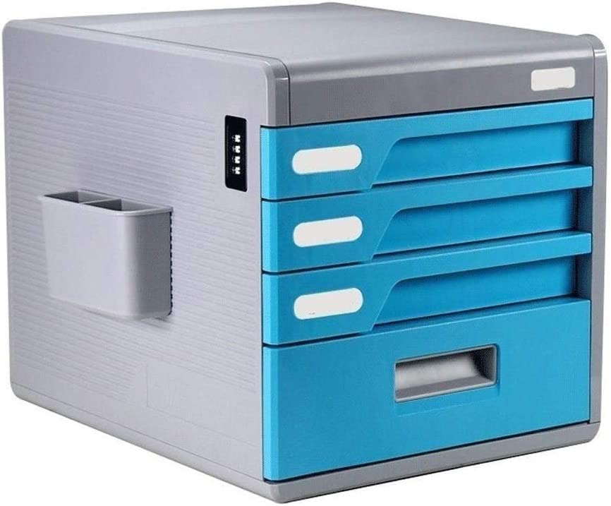 At the price of surprise Max 77% OFF Home Office Desktop File Storage Cabinet Drawer Box 4 Stora