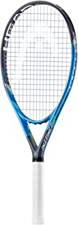 Head Graphene Touch Instinct PWR (Power) Extended/Oversized 16x19 Blue/Black/Lime Tennis Racquet Strung with Custom String Colors (Best Racket for Power and Comfort)