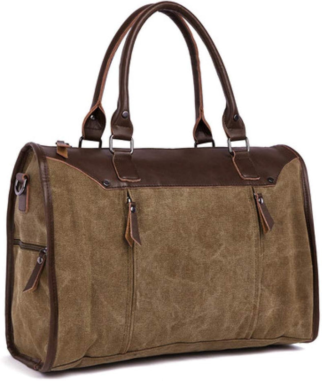 YLOVEK Premium-Handtasche Mode Premium Single Schultertasche europäischer und amerikanischer Gezeiten Crossbody Leinentasche B07Q3FSHBD