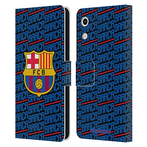 Head Hülle Designs Offizielle FC Barcelona Barca Wappen Muster Leder Brieftaschen Huelle kompatibel mit Huawei Honor Play 8A