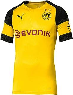 PUMA 2018-2019 Borussia Dortmund Authentic evoKNIT Home Football Shirt