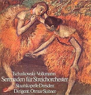 Pyotr Ilyich Tchaikovsky o Robert Volkmann , Otmar Suitner , Staatskapelle Dresden - Serenaden Für Streichorchester - ETERNA - 8 25 961