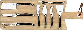 Laguiole Style de Vie Premium Line - Juego de cuchillos de queso (8 piezas)