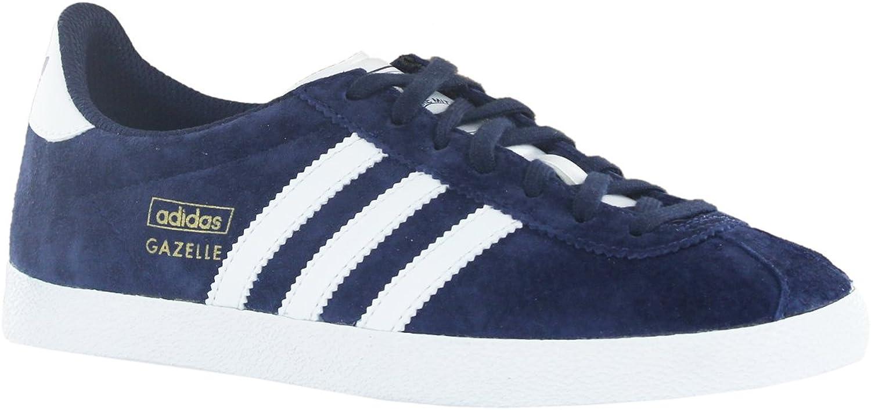 Adidas Gazelle OG Blau Weiß Mens Trainers Größe 44 2 3 EU