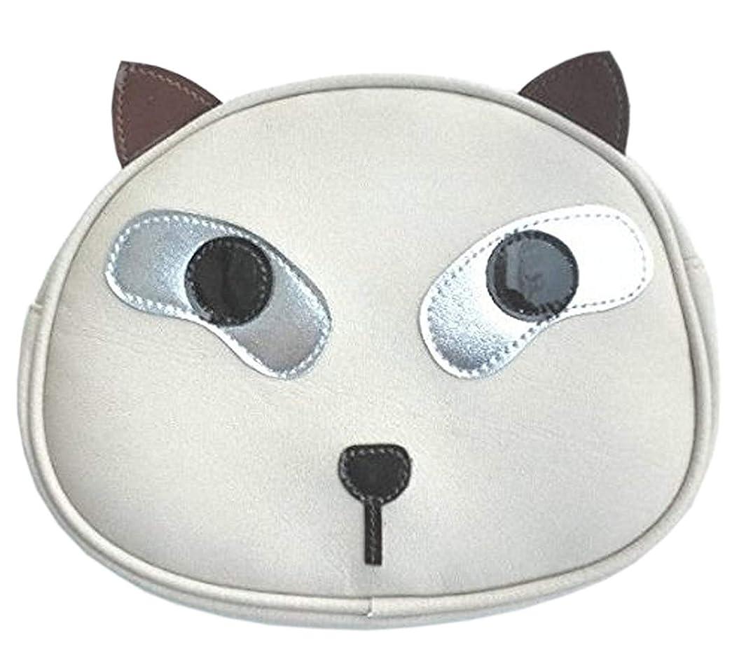 一定アレルギー平和的猫 ポーチ かわいい おしゃれ 小物入れ レディース 猫グッズ 雑貨 プレゼント かわいい 人気 安い シャム猫