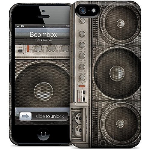 HardCases for iPhone 5/5S by Gelaskin STYLE: Boombox
