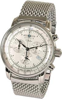 ツェッペリン ZEPPELIN 腕時計 7680M-1 100周年記念 クォーツ 42mm メタルベルト [並行輸入品]