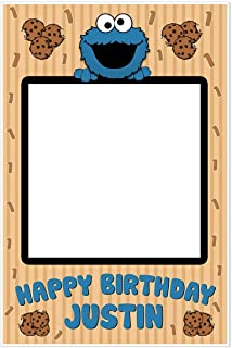 cookie monster selfie frame