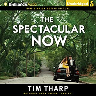 The Spectacular Now audiobook cover art