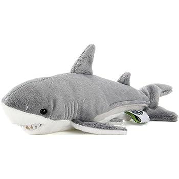 カロラータ ホホジロザメ ぬいぐるみ 動物 Sサイズ 14.5cm×10.5cm×26cm