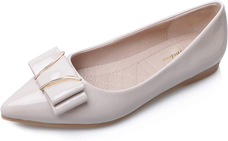 Jocbinltd Womens Flat Casual shoes Women Loafers Harajuku shoes Creepers Leather shoes Women Driving Flats Apricot