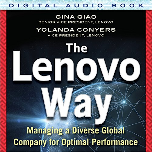 The Lenovo Way audiobook cover art