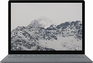 2018 Microsoft Surface 13.5in LCD 2256 x 1504 Touchscreen Laptop Computer, Intel Core m3-7Y30 up to 2.60GHz, 4GB RAM, 128GB SSD, Bluetooth, USB 3.0, WIFI, Windows 10 S (Renewed)