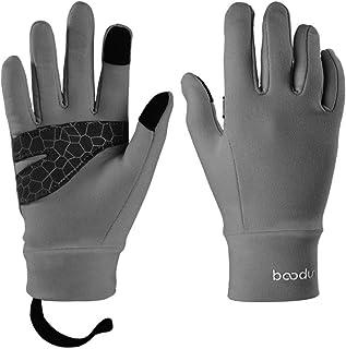 EXCEREY Kids Winter Gloves Kids Winter Touchscreen Anti-Slip Sports Running Cycling Gloves for Children 4-12 Years