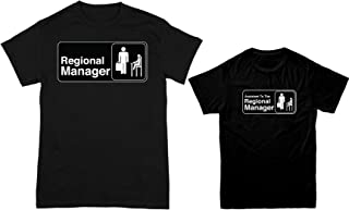 HAASE UNLIMITED Regional Manager//Assistant 2-Pack Bodysuit /& Mens T-Shirt