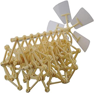 HEYZLASS Mini Strandbeest Model Kit (Wind Power DIY-Beast) , Interesting and Creative Gift for Birthday Holiday