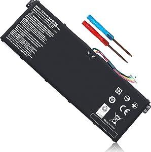 AC14B8K Battery for Acer Aspire R5-471T R5-571T R7-371T, A515-51 A515-52 A515-43 V3-371 V3-111 ES1-111 ES1-512 ES1-531, Chromebook CB3-111 CB5-571 CB3-531 CB5-311 C810 C910 N15Q9 Nitro 5 4ICP5/57/80