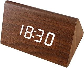 QPllRZZ Reloj Despertador Electrónico Escritorio Calendario