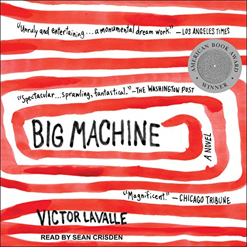 Big Machine audiobook cover art