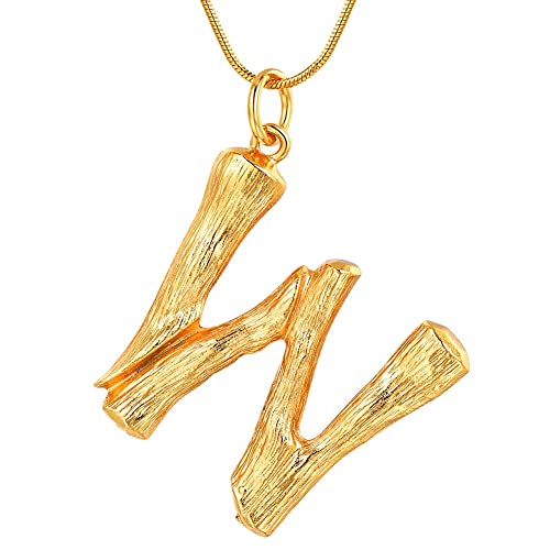 0345869e4a87b Womens Gold Initial Necklace: Amazon.ca