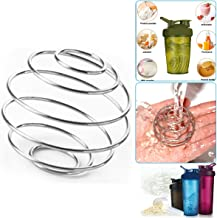 5 PCS Stainless Steel Bottle Mixer Ball Milkshake Protein Blenders Food Grade Stainless Steel Wire Mixing Ball for Shaker Drinking Bottle Cup Replacement Wire Whisk Milkshake Protein Shaker Balls Estimated Price : £ 5,99