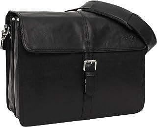 Gusti Aktentasche Leder - Rémy Lehrertasche Unitasche Umhängetasche Businesstasche Arbeitstasche Collegetasche Laptoptasche Vintage