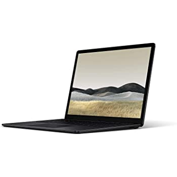 "Microsoft Surface Laptop 3 13.5"" 2256x1504 Touchscreen Laptop, Intel i5-1035G7, Quad-Core, 8GB RAM 256GB SSD, Iris Plus Graphics, Webcam, Bluetooth, Win 10 Home - Black (Renewed)"