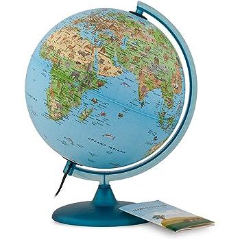 LOGISTICA Ravensburger Italy 00795 0 il Mio Primo Mappamondo Interattivo