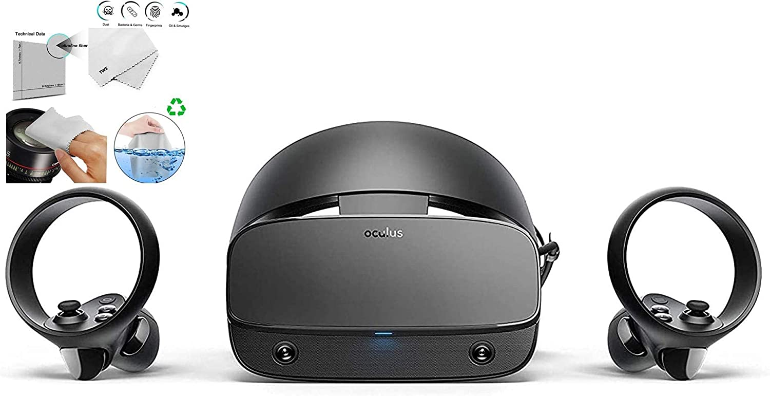 Oculus Rift S Pc Powered Limited Price Vr Two Headset Touch Gaming Control