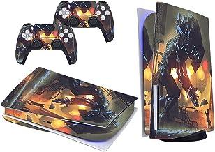 Película PS5 para console e controle, adesivo de vinil para PlayStation 5, protetor de corpo inteiro durável, resistente a...